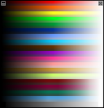 The first color picker