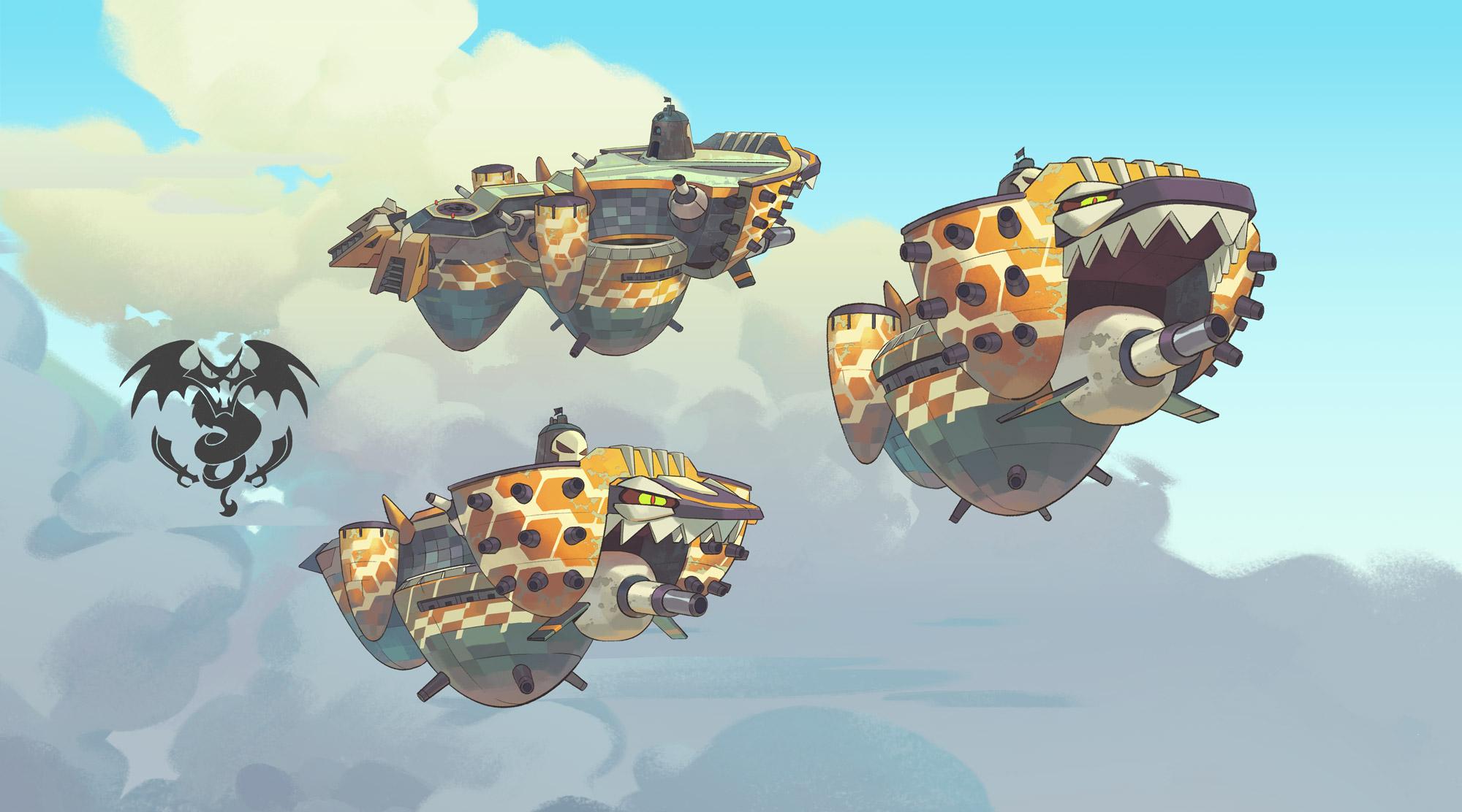 Sky Pirates' Airship