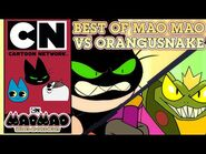 Mao Mao- Heroes of Pure Heart - Best of Mao Mao vs Orangusnake - Cartoon Network UK 🇬🇧