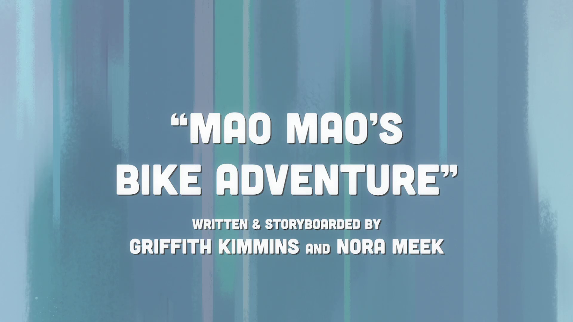 Mao Mao's Bike Adventure/Gallery