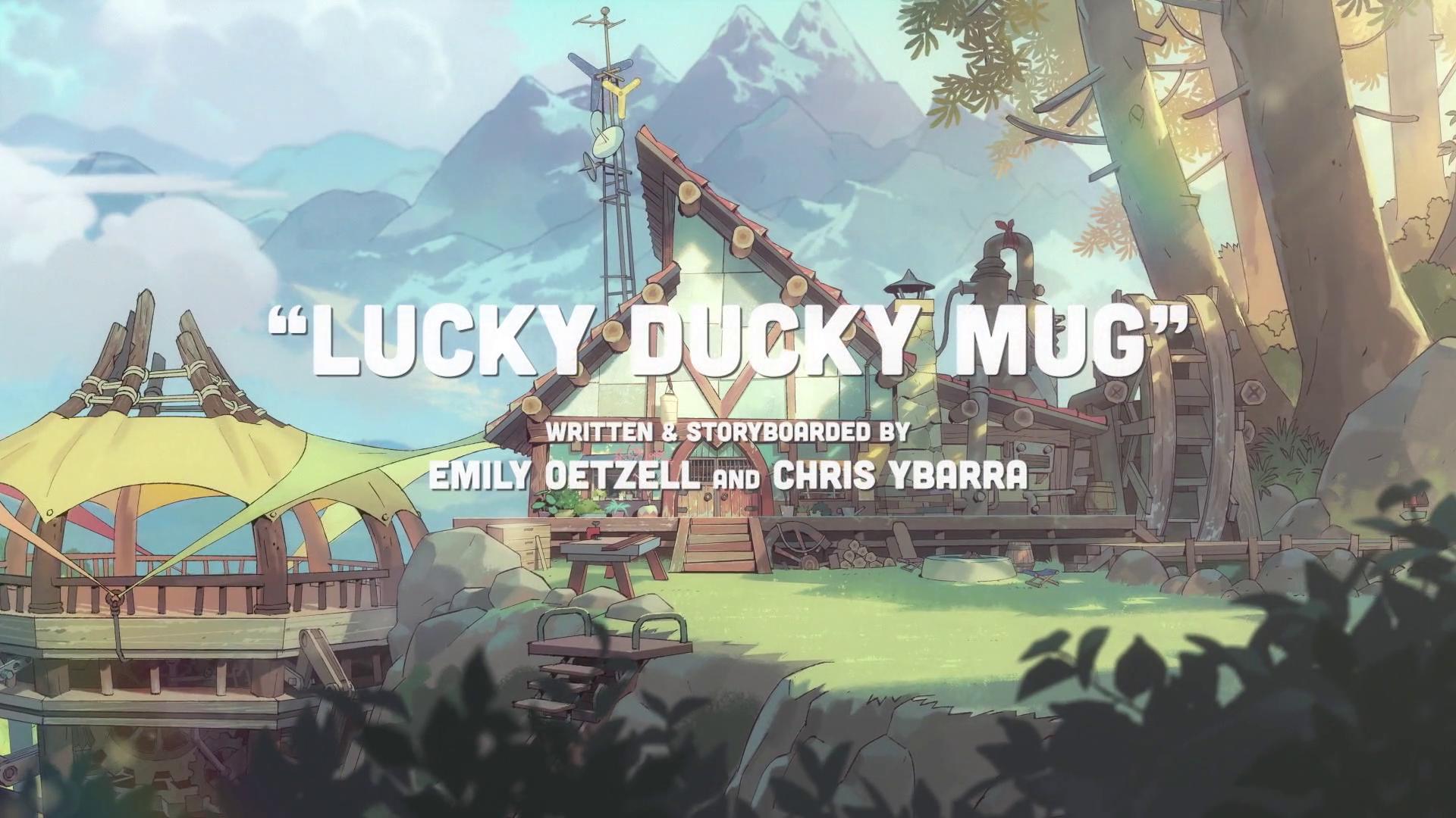 Lucky Ducky Mug/Gallery
