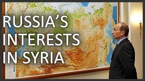 Why does Russia support Syria's al-Assad?