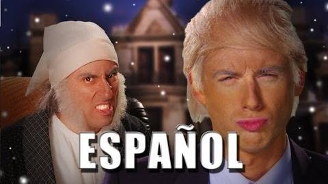 ERB Español - Donald Trump vs Ebenezer Scrooge Season 3 (Subtitulos español)