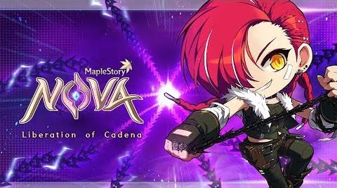 MapleStory Nova Liberation of Cadena Trailer