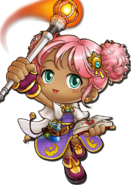 ClassArtwork Magician (Maple Island Revamp, Female)