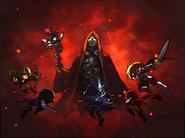 Sharenian Knights attacking Ergoth