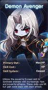 SelectButton Demon Avenger