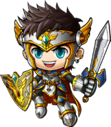 ClassArtwork Warrior (Jump, Male)