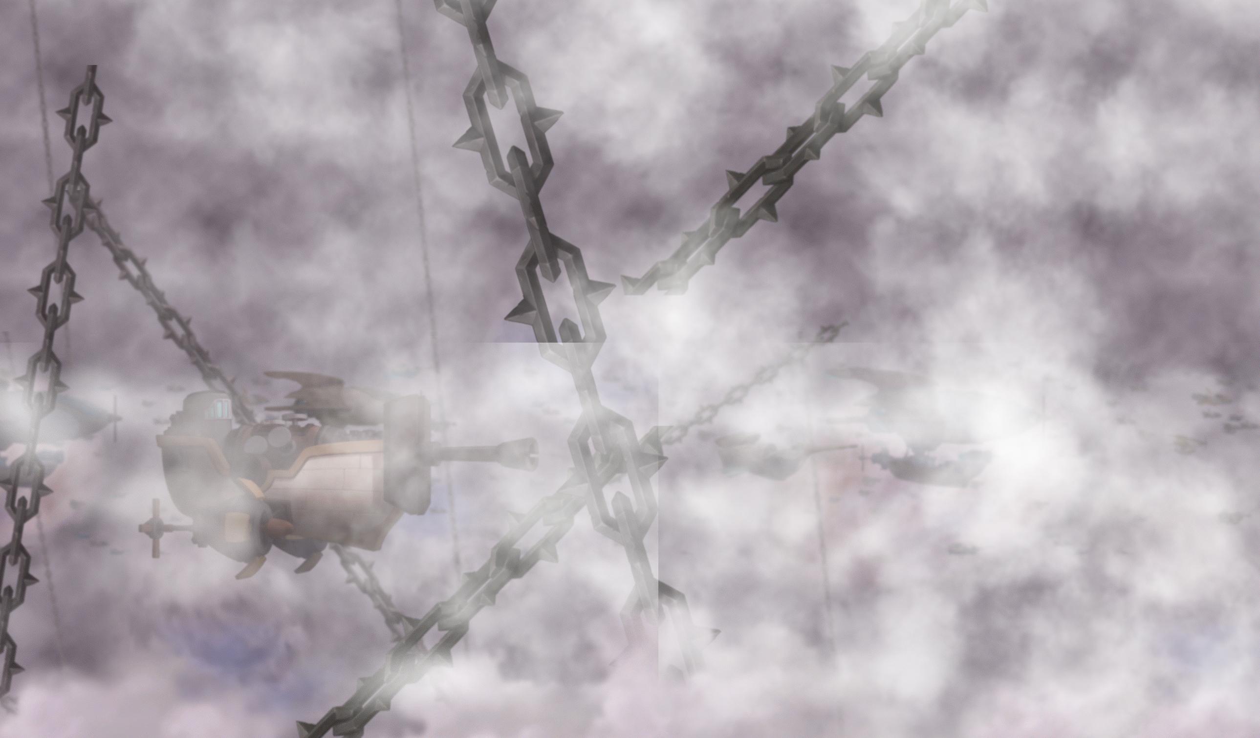 Mysterious Fog Skyline