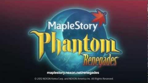MapleStory - Renegades The Phantom Launches into MapleStory