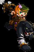 ClassArtwork Wild Hunter (Big Bang, Female)