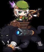ClassArtwork Wild Hunter (Black Heaven, Male)