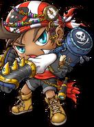 ClassArtwork Pirate (Buccaneer, Original, Male)
