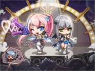 Kaiser, Angelic Buster and Edea