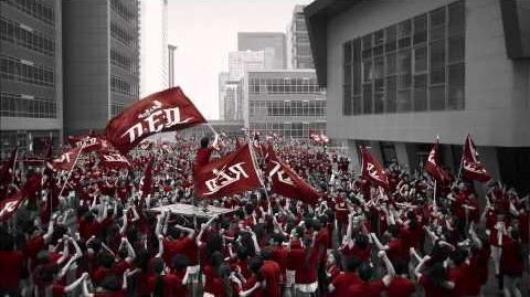 메이플스토리 'RED' TV CF 영상 '신의아이'편