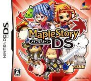 MapleStory DS Japanese box art
