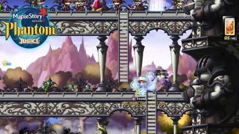 MapleSEA Justice Patch - Phantom Skills 1