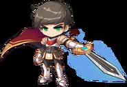 ClassArtwork Warrior (Awake, Male)