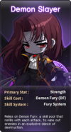 SelectButton Demon Slayer