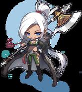 ClassArtwork Aran (Heroes of Maple 2)