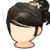 Hair icon Flower-knotted Hair.png
