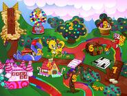 Candyland numbered