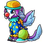 Lorius clown