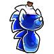 Blue Rofling Pot