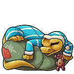Gizmo sleepy
