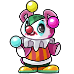Azul clown