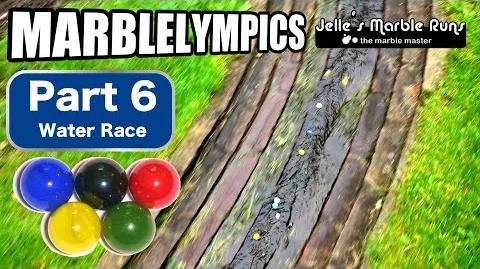 Marble Race- Marble Olympic Games (part 6, Water Race)