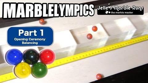 Marble Race- Marble Olympic Games (part 1, opening)