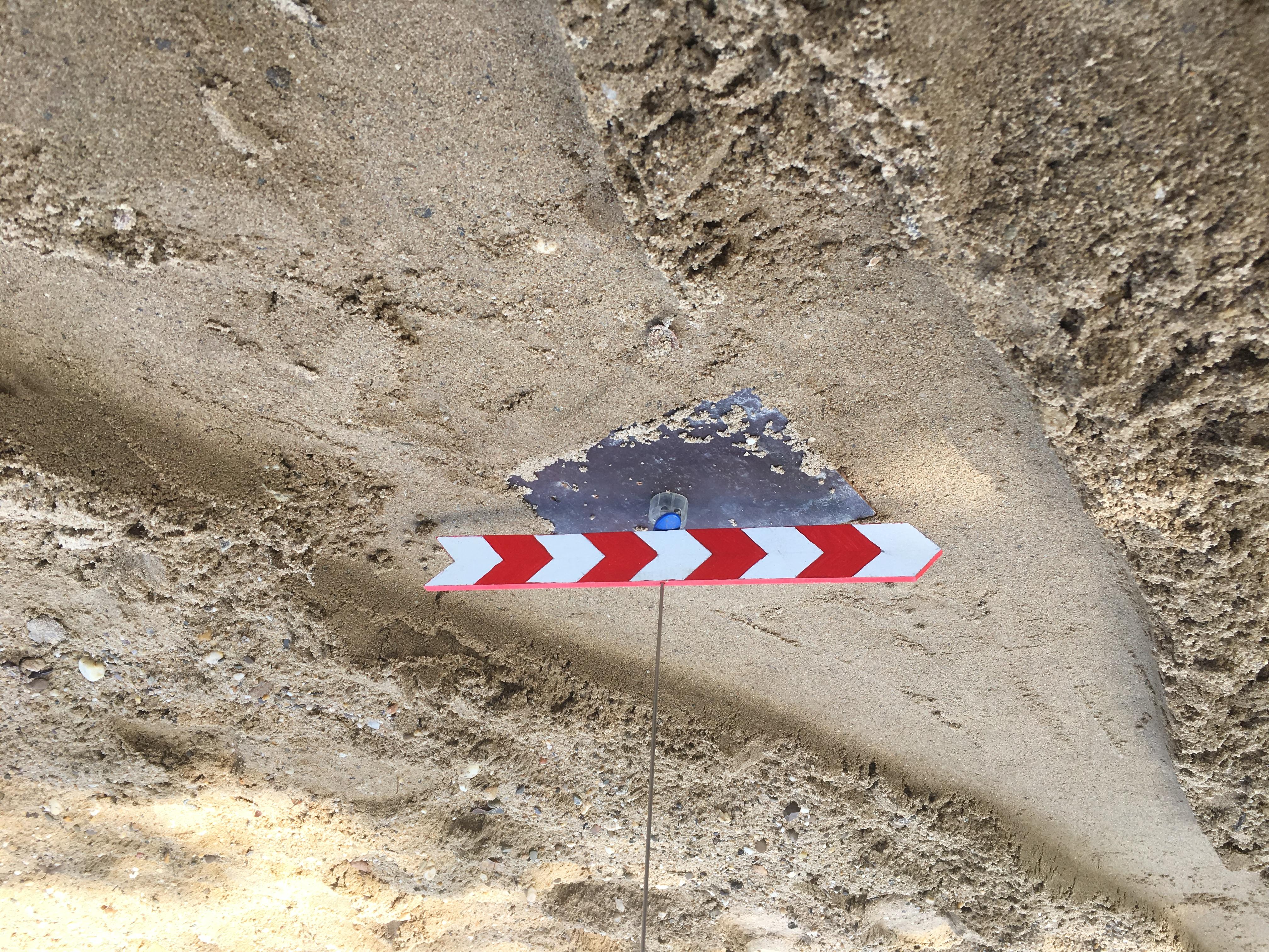 Rotating Chevron Sign (Sand Rally)