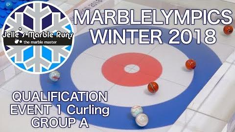 Winter MarbleLympics 2018 Qualification Curling Group A