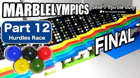 Marble Race- Marble Olympic Games (part 12, Hurdles, FINAL)