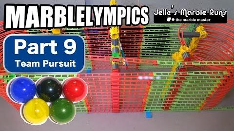 Marble Race- Marble Olympic Games (part 9, Team Pursuit)