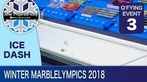 Epic Marble Race- Winter MarbleLympics 2018 Qualification- Event 3- 5 meter Ice Dash