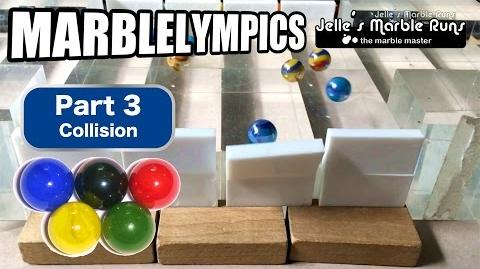 Marble Race- Marble Olympic Games (part 3, Collision)