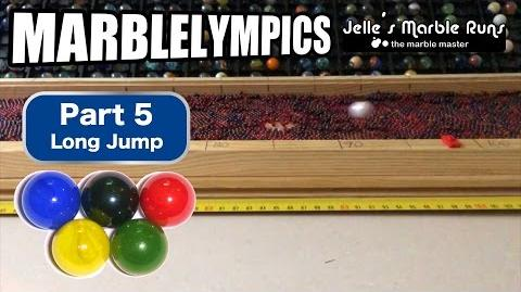 Marble Race- Marble Olympic Games (part 5, Long Jump)