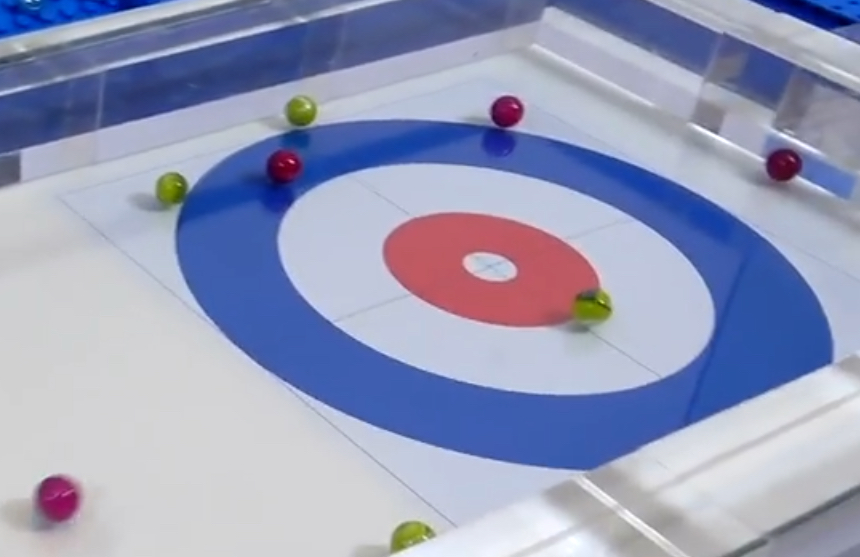 Marble League 2018 Event 9: Curling