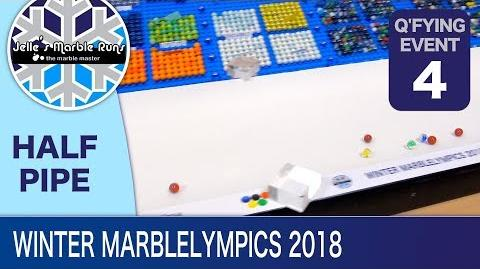 Epic Marble Race- Winter MarbleLympics 2018 Qualification- Event 4 Halfpipe (FINAL)