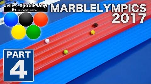 Marble Race- MarbleLympics 2017 event 4- 5 meter sprint