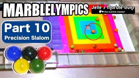 Marble Race- Marble Olympic Games (part 10, Precision Slalom)