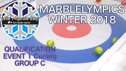 Winter MarbleLympics 2018 Qualification- Event 1 Curling Group C