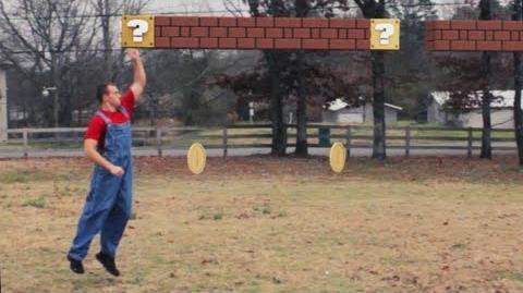 Real Life Super Mario Updated!