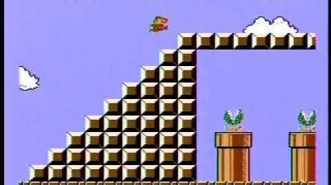 Super Mario Bros. Speed Run - 4 58! World Record!!!-0