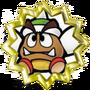 Paraspiky Goomba Badge