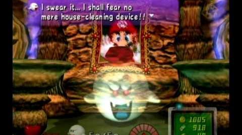 Luigi's Mansion - Final Boss King Boo Ending