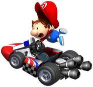 Bebé Mario Mario Kart Wii