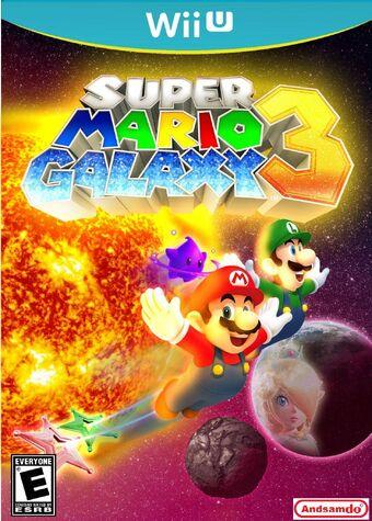 Super Mario Galaxy 3 Mario Fanon Wiki Fandom